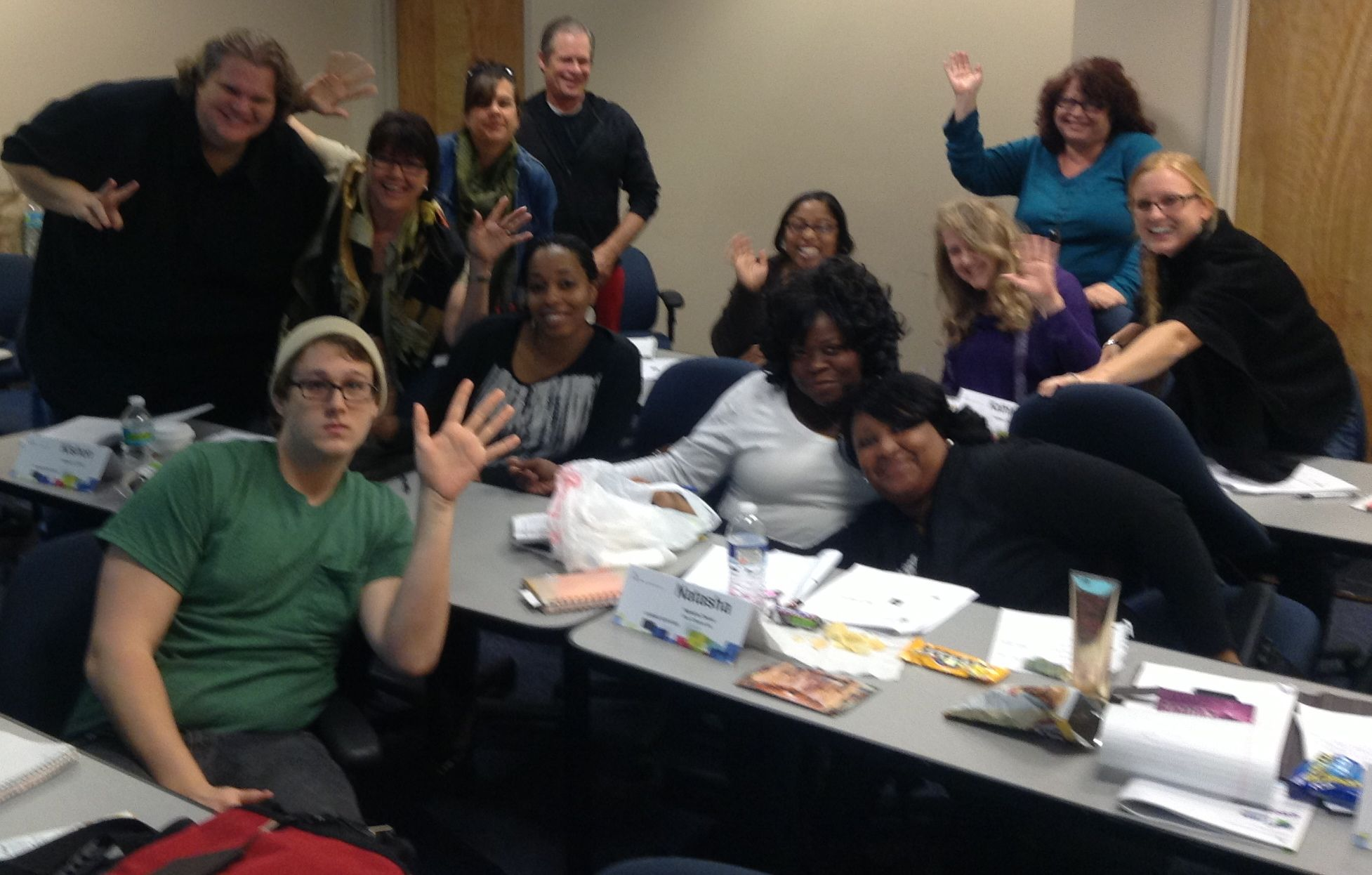 Crash Course in Screenwriting Students, April 2013